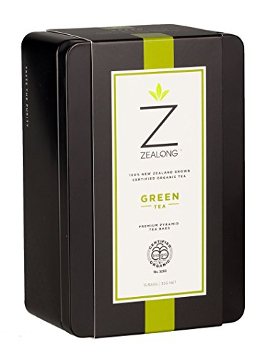 Cheap Premium Organic Green Tea, Awarded Best Single Serve Green Tea at the 2017 Global Tea Championships. Biodegradable Premium All-Natural Pyramid Tea Bags by Zealong Creators of The World's Purest Tea