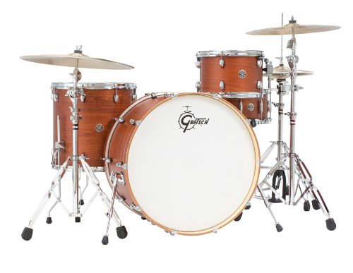 Gretsch-Drums-Catalina-Club-CT1-R444-SWG-4-Piece-Drum-Shell-Pack-Satin-Walnut-Glaze