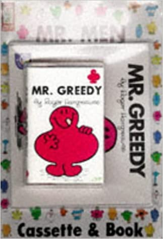 Mr. Greedy (Mr Men Book & Tape)