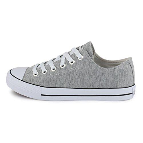 Elara Unisex Sneaker | Damen Herren | Low Top | Chunkyrayan hellgrau London