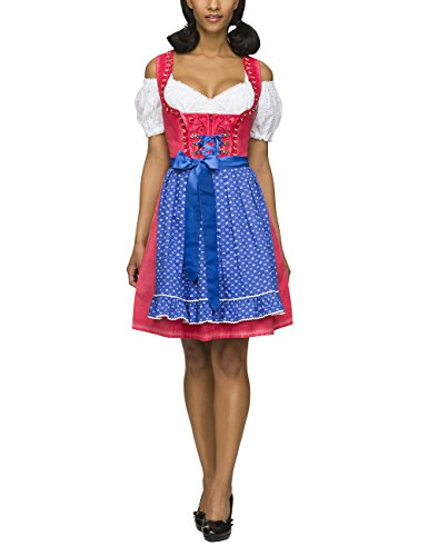 Stockerpoint Stella, Vestido para Mujer Rojo (rot)