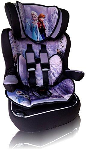 DISNEY I MAX Kindersitz KINDER AUTOSITZ BABY SITZ GRUP1/2/3 -9-36kg FROZEN Disney Eiskönigin Anna & Elsa *ADAC+GRATIS STICKER