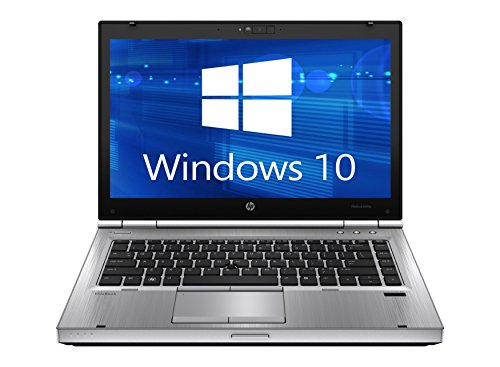 HP Elitebook 8470p Laptop WEBCAM - Core i5 2.6ghz - 8GB DDR3 - 128GB SSD - DVDRW - Windows 10 64bit - (Certified Refurbished)