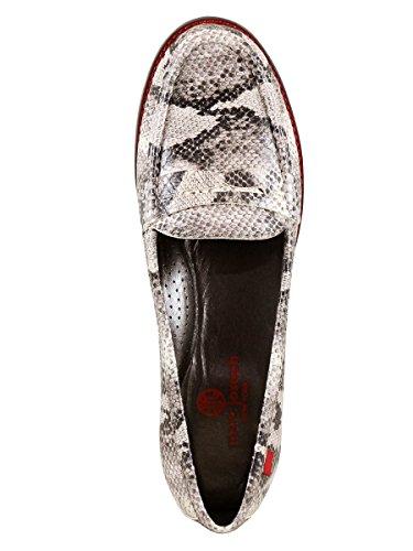 Echt Leer Gemaakt In Brazilië East Village Klassieke Penny Loafer Marc Joseph Ny Fashion Schoenen Stone Black Cobra