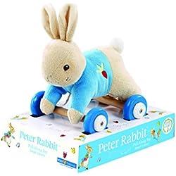 "Kids Preferred Beatrix Potter Peter Rabbit Pull-Along Plush Toy, 7"""