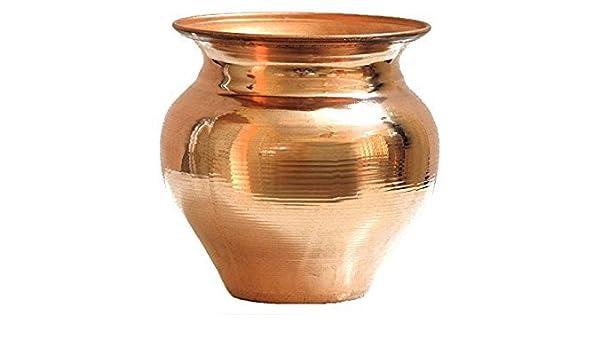 Lota, cobre puro, 1,2 L: Amazon.es: Hogar