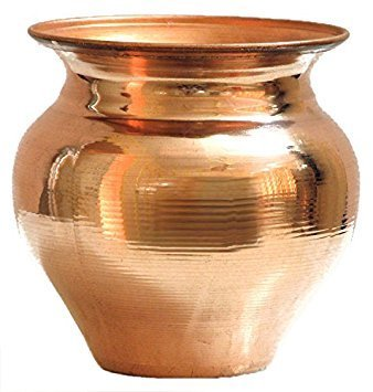 Amazon.com: PURE COPPER PLAIN LOTA, 1.2 L: Kitchen & Dining