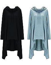 GUAPISIMA Nouvelle Collection 2018 Sweat Long avec Capuche Manches Longues, Forme Large et Confortable Peut Servir de Pull Manteau et Couverture