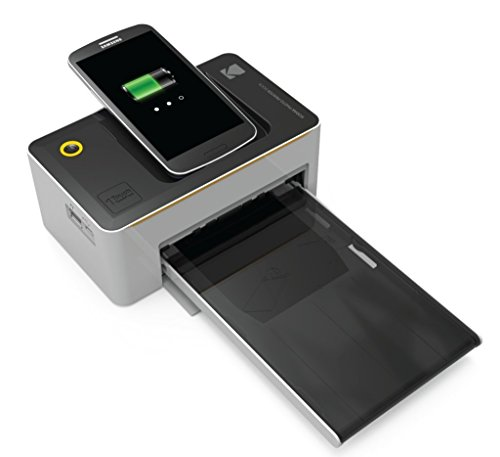 Kodak Dock & Portable Printer, Premium Quality Color Prints - w/iOS