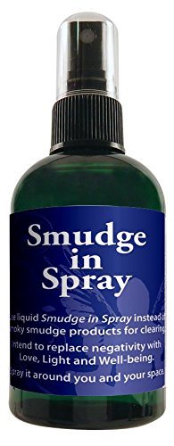 Smudge in Spray 4 Oz by The Crystal Garden