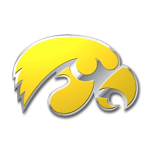 Team ProMark NCAA Iowa Hawkeyes Die Cut Color Auto Emblem