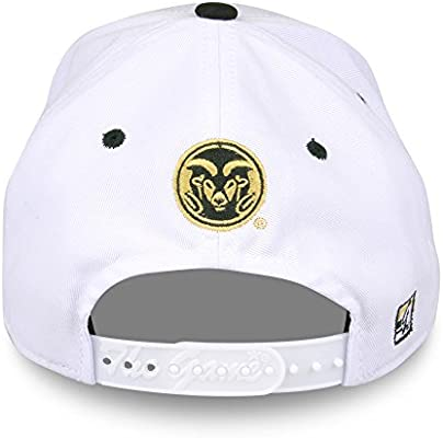 f02425c927b The Game Colorado State Rams Adult Gameday Bar Adjustable Hat - White