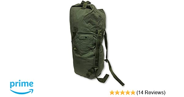 Amazon.com  NEW USA Made Army Military Duffle Bag Sea Bag OD Green Top Load  Shoulder Straps  Sports   Outdoors 146822c601eb6