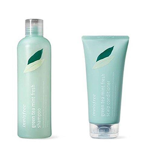 Innisfree-Green-Tea-Mint-Fresh-Shampoo-Conditioner