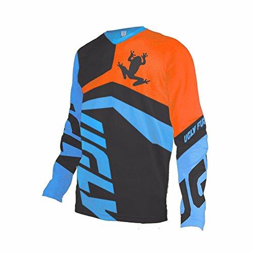 Price comparison product image Uglyfrog MT04 Designs Bike Wear Men's Downhill Jersey Spring&Summer Long Sleeve Rage MTB Cycling Top Cycle Motocross Mountain Bike Shirt