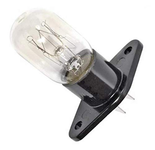Lámpara de repuesto de 20 W apta para hornos microondas Samsung