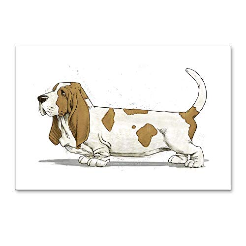 CafePress Basset Hound Postcards (Package of 8), 6