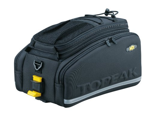 Topeak MTX Trunk Bag DX Bicycle Trunk Bag with Rigid Molded Panels