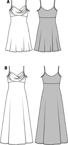 Schnittmuster kleid empire kostenlos
