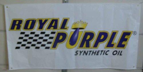 Royal Purple Oil Racing Banner 6 Foot By 3 Foot