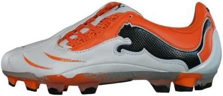 de nuevo Mariscos Acumulación  Puma Powercat 1.10 FG K Leather - Soccer - White Orange, Size:UK 9.5:  Amazon.co.uk: Shoes & Bags