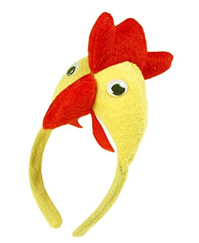 Gifts Set of 2 [Funny Chicken] Kids Party Favors Party Hats for Toddlers/Adults by Panda Superstore