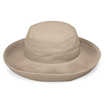 3cbada1d184 Wallaroo Women s Casual Traveler UV Sun Hat - Camel