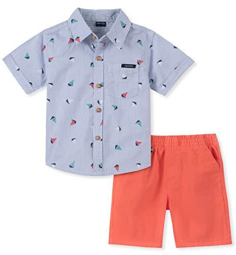 Nautica Sets (KHQ) Boys' Little 2 Pieces Shirt