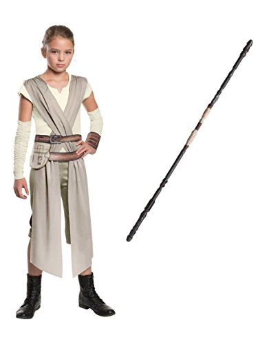 Rubie's - Star Wars Episode VII - Classic Rey Costume For Girls