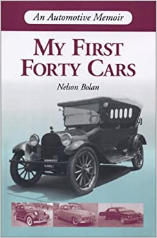 Book My First Forty Cars: An Automotive Memoir
