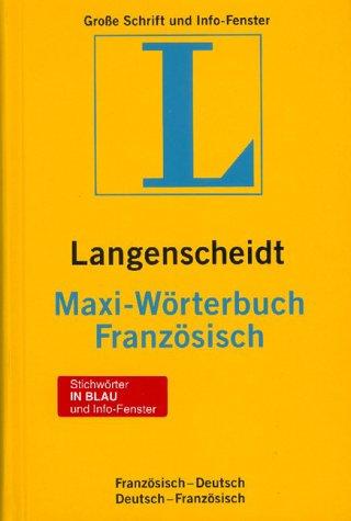 Französisch-Deutsch /Deutsch-Französisch