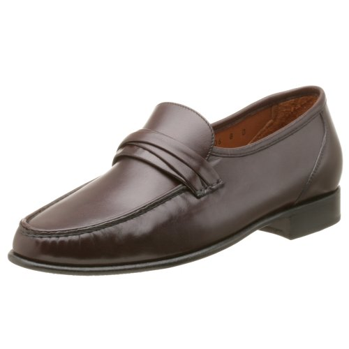 Allen Edmonds Men's Bergamo Loafer,Burgundy,10.5 B - Allen Edmonds Leather Moccasins