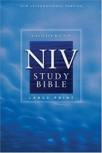 Zondervan NIV Study Bible, Large Print