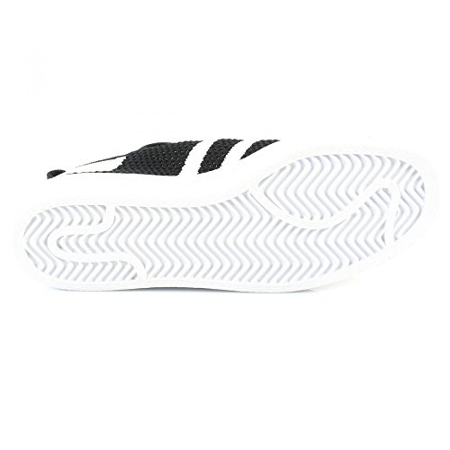 80s Chaussures Superstar Adidas Mode Originals Femme Primeknit Blanc W Noir Sneakers EBXpq