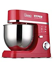 HYPER Stand Mixer .JANO From Al Saif Company 7L - JN1211, Red