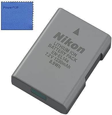 Nikon EN-EL14a Lithium-Ionen-rechargeable battery para Nikon Df, D3100, D3200, D3300, D5100, D5200, D5300, D5500 Cámara réflex digital - COOLPIX ...