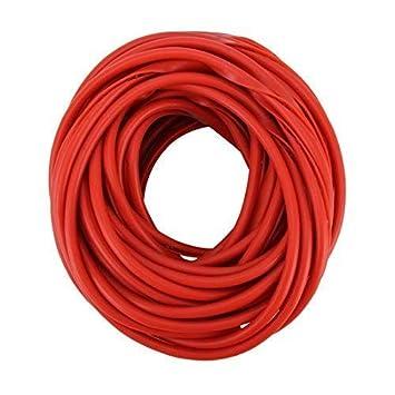 Protección Canto Puerta 5m Rojo para Coche - Perfil u Altamente Flexible-Cortable-Autoadhesivo
