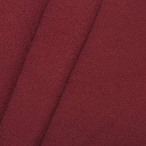 Piattaforme B1 - tessuto Molton 300 centimetri, di colore Bordeaux