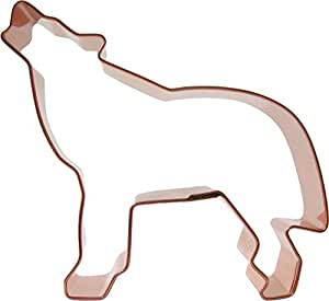 CopperGifts: Wolf Cookie Cutter - Standing