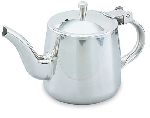 Server, Hinged Tea Gooseneck, Stainless Steel, 10 Ounce - 12 Per Case