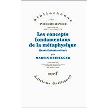 CONCEPTS FONDAMENTAUX DE MÉTAPHYSIQUE