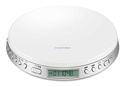 TOSHIBA Speed Control Function Portable CD Player TY-P1-W【Japan Domestic genuine products】