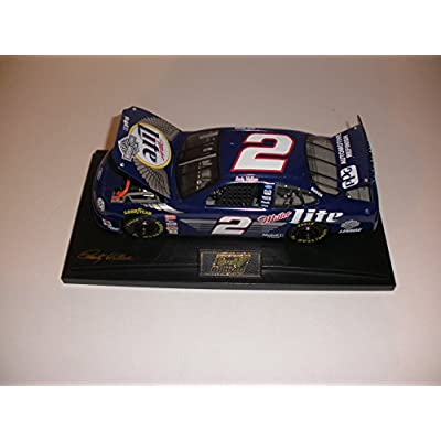 Rusty Wallace Miller Lite Harley-Davidson #2 1999 Taurus W/ Stand NASCAR Action Racing Collectibles 1:18 Die-Cast Stock Car Limited Run: Toys & Games