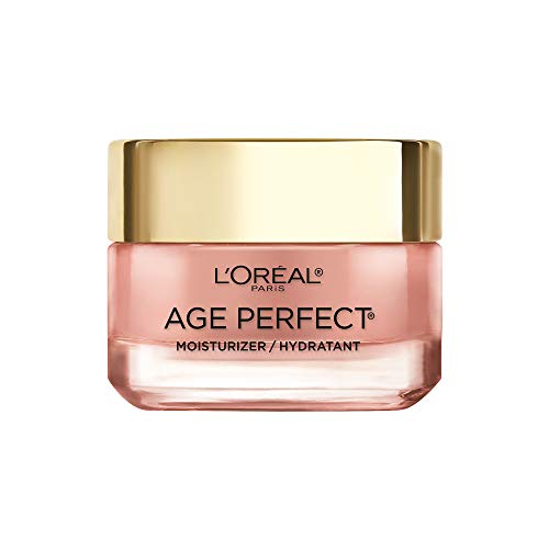 Face Moisturizer by L'Oreal Paris Skin Care I Age Perfect Rosy Tone Moisturizer for Visibly Younger Looking Skin I Anti-Aging Day Cream I 1.7 oz. - Packaging May Vary