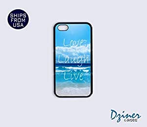 iPhone 5c Case - Love Laugh Live Beach iPhone Cover