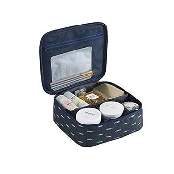 265f1002e80a Lemoncy Portable Makeup Bag Travel Cosmetic Bag Makeup Storage Organizer  Large Capacity Travel...