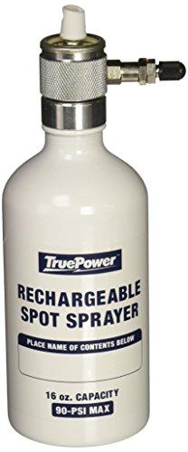 Gino Development 03-0828 Reusable Refillable Multipurpose Aerosol Spray Bottle and Spray Tip Set, 16 oz - Aerosol Canister