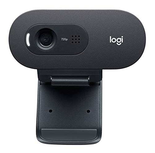(Logitech C270 Desktop or Laptop Webcam,  HD 720p Widescreen for Video Calling and Recording)