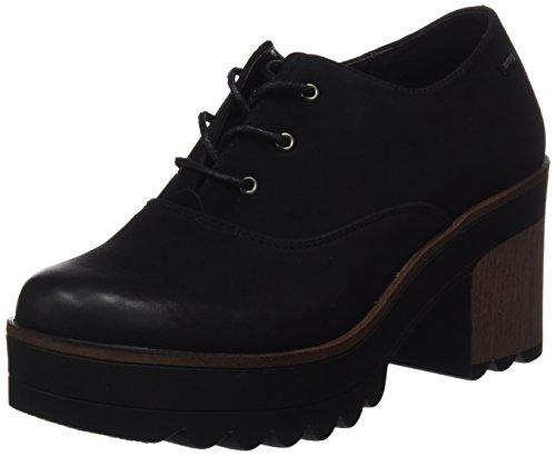 MTNG WoMen JES Closed Toe Heels Black (Shun Negro)