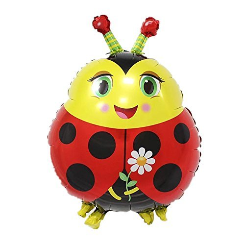 Animal Cute Pets Foil Helium Balloon for Kids Birthday Wedding Party (Ladybug) by Y.P.Selected